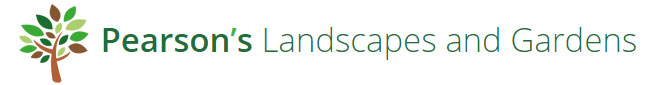 Pearson's Landscapes Logo